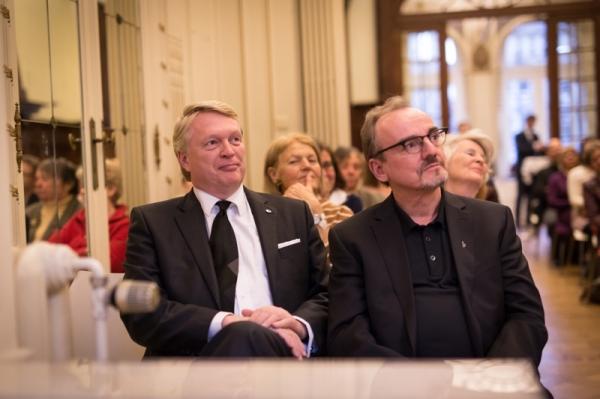 Dietmar Hoscher und Christian Jahl - © Fred Beard/Wien-Haus